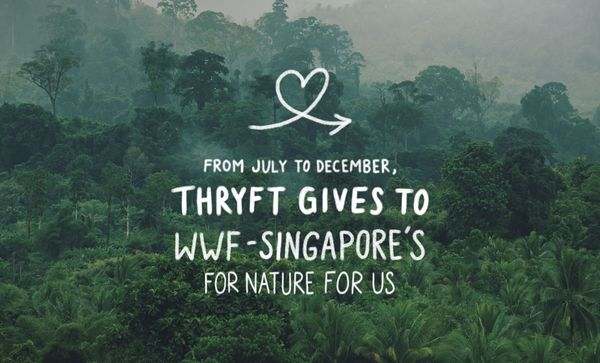 Thryft Gives: WWF-Singapore